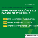 Capitol Matters: Food & Ag Updates from the 2021 Legislature